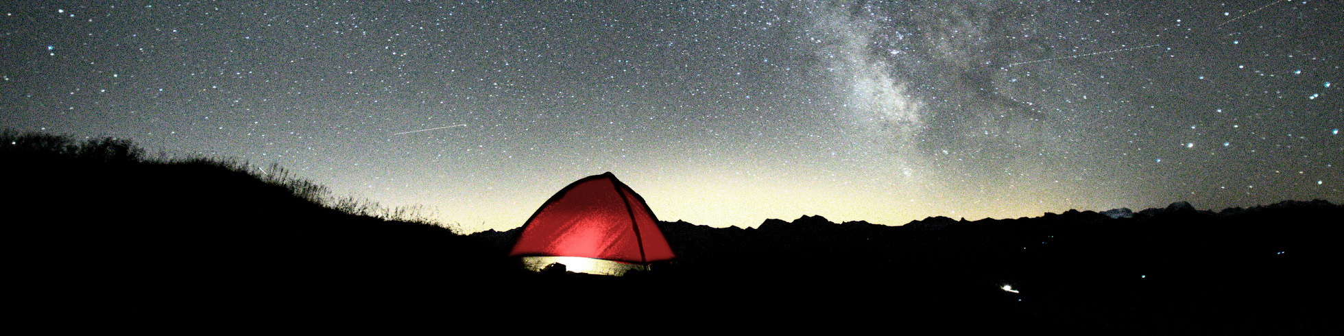 camping under the stars at churfirsten